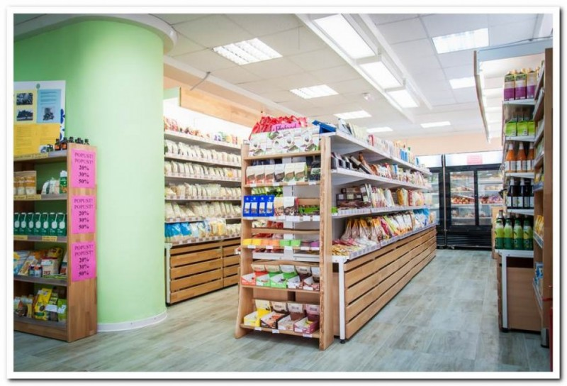 Bio-Svijet stores of organic products in Zadar