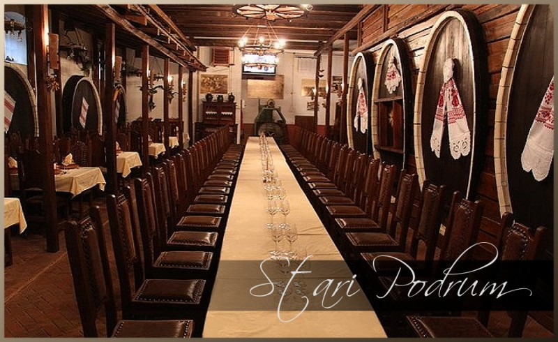 Stari podrum and country estate Principovac - pearls of the east of Croatia with top quality wines
