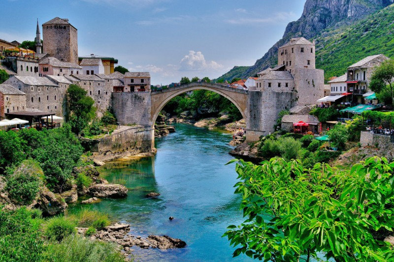Weekend in Mostar, Hotel Kriva ćuprija **** with the unforgettable experience of the old city core!