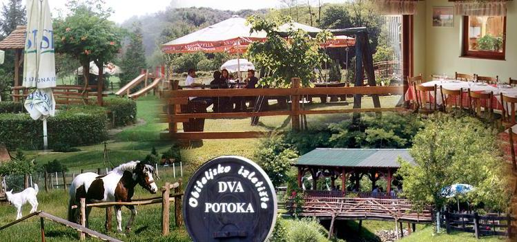 Wonderful family resort near Zagreb, Restaurant Dva potoka