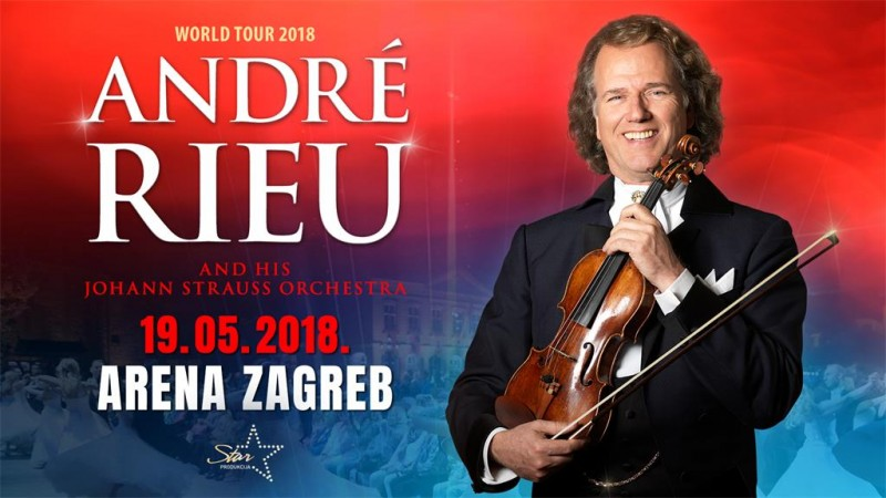 Andre Rieu @ Arena Zagreb, 19.05.2018