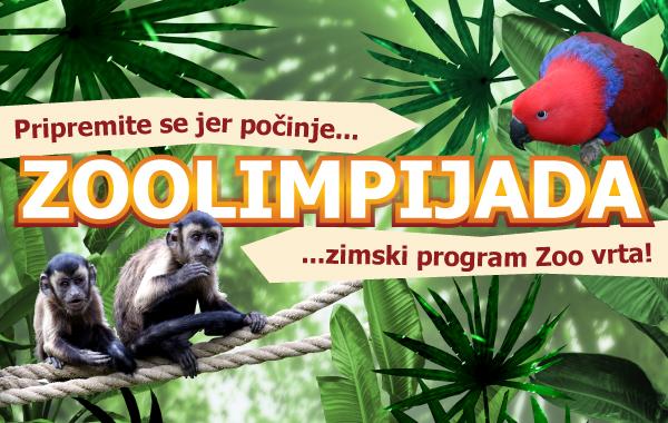 U subotu 30.11. počinju upisi u Zoolimpijadu