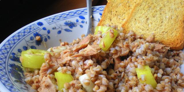 Salata sa heljdom - savršen ručak