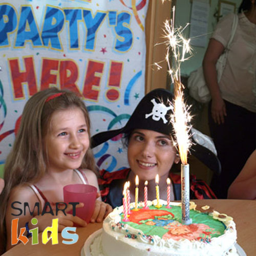 SMART KIDS HOME PARTY