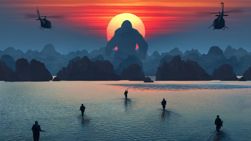 Kong: Otok lubanja
