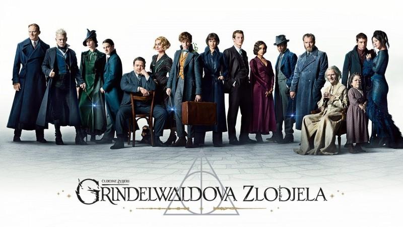 Čudesne zvijeri: Grindelwaldova zlodjela , avantura, fantazija, obiteljski, 134 minute