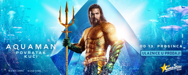 Aquaman ,akcijski, avantura, SF, 143 minute