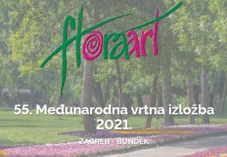 Odgođena je međunarodna vrtna izložba Floraart  koja se trebala održati od 10. do 16. svibnja 2021 na Bundeku