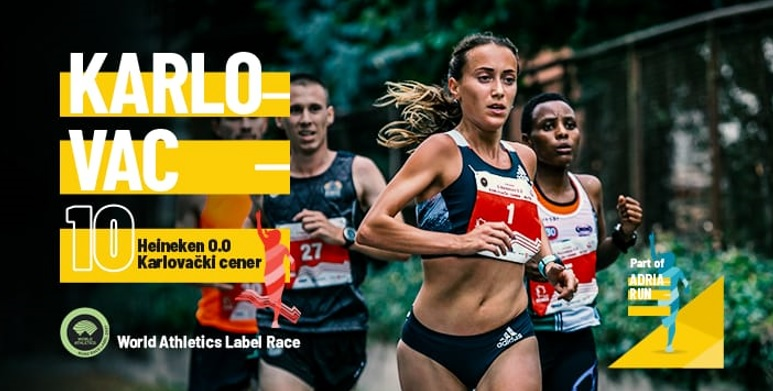 U četvrtak 10. lipnja  započinje Karlovački cener simboličnom utrkom na 1579 metara dok nam se 11. 7. pridružuju trkači iz cijelog svijeta
