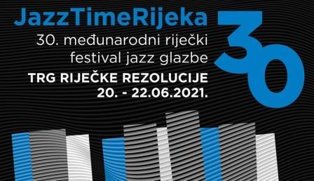 Program tri dana i četrnaest koncerata na   JazzTimeRijeka festivalu od 20. do 22. 6. 2021. u Rijeci.