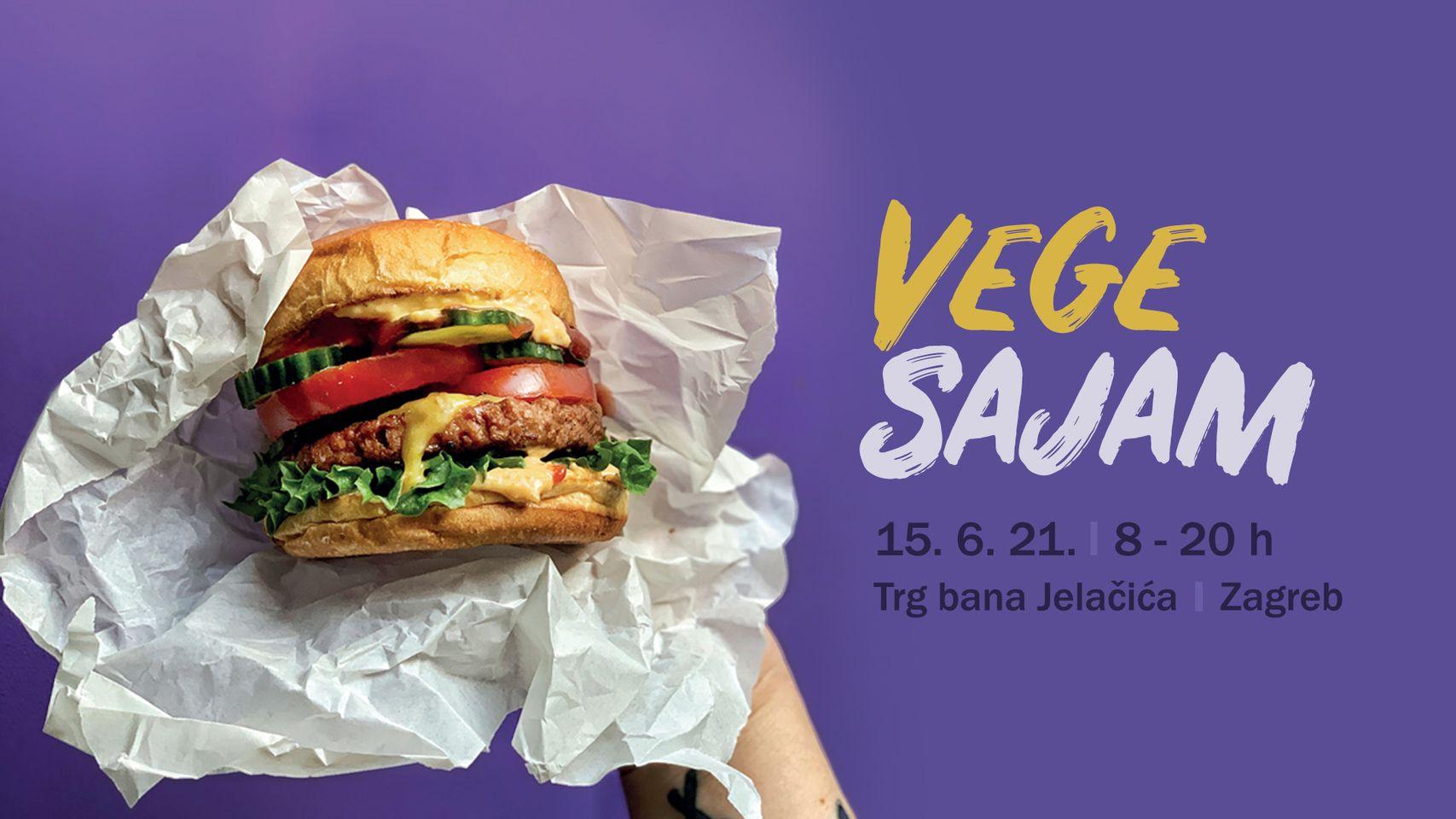 10. VegeSajam  če se  održati u utorak 15. lipnja 2021. od 8 do 20 sati na zagrebačkom Trgu bana Jelačića.